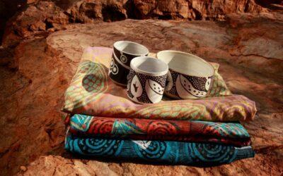 Rising stars of Waringarri Aboriginal Arts in Kununurra