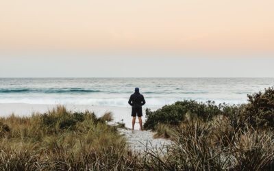 In search of Abalone in St Helens, Tasmania